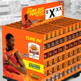 In-Store pallet design for REESE'S All Star Game 2013